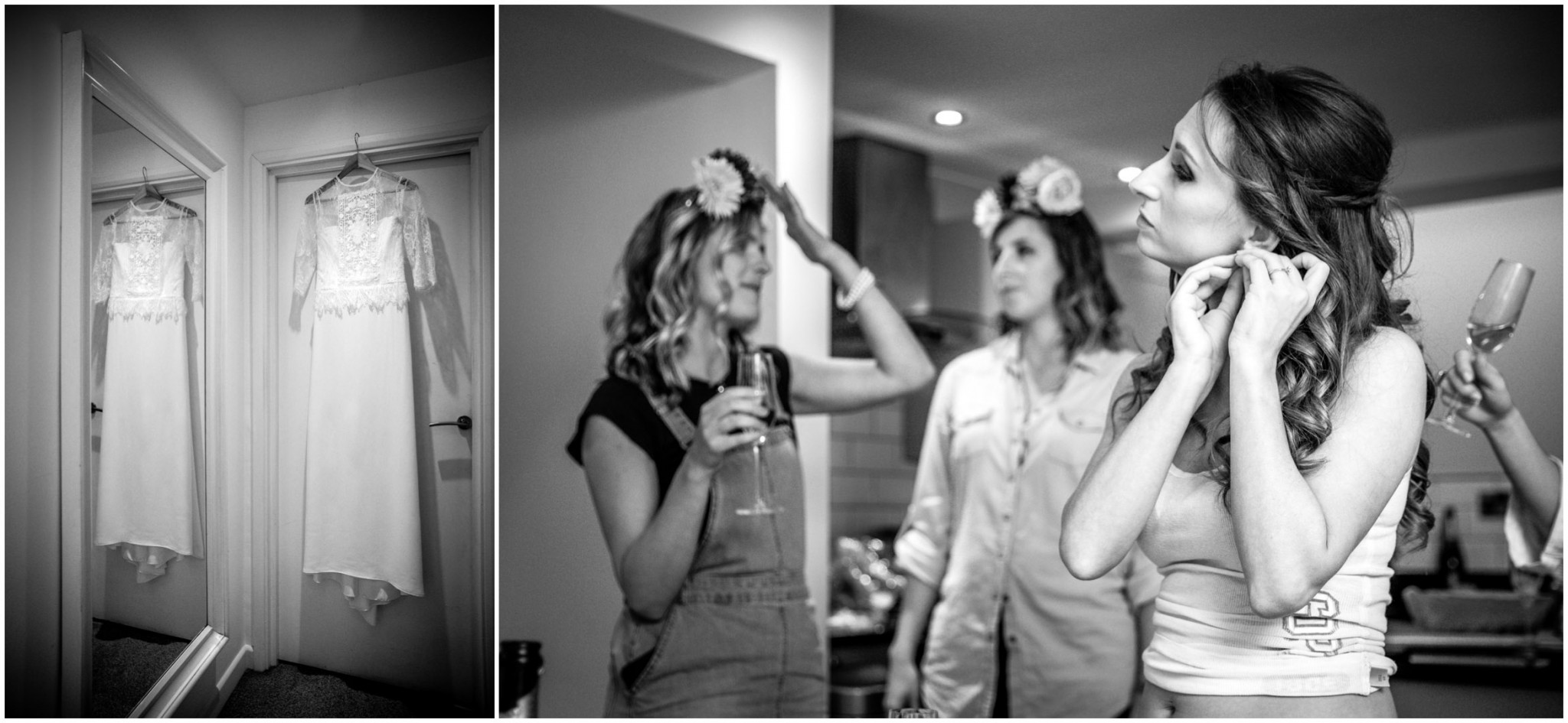 Islington Metal Works Wedding - Bridal preparations