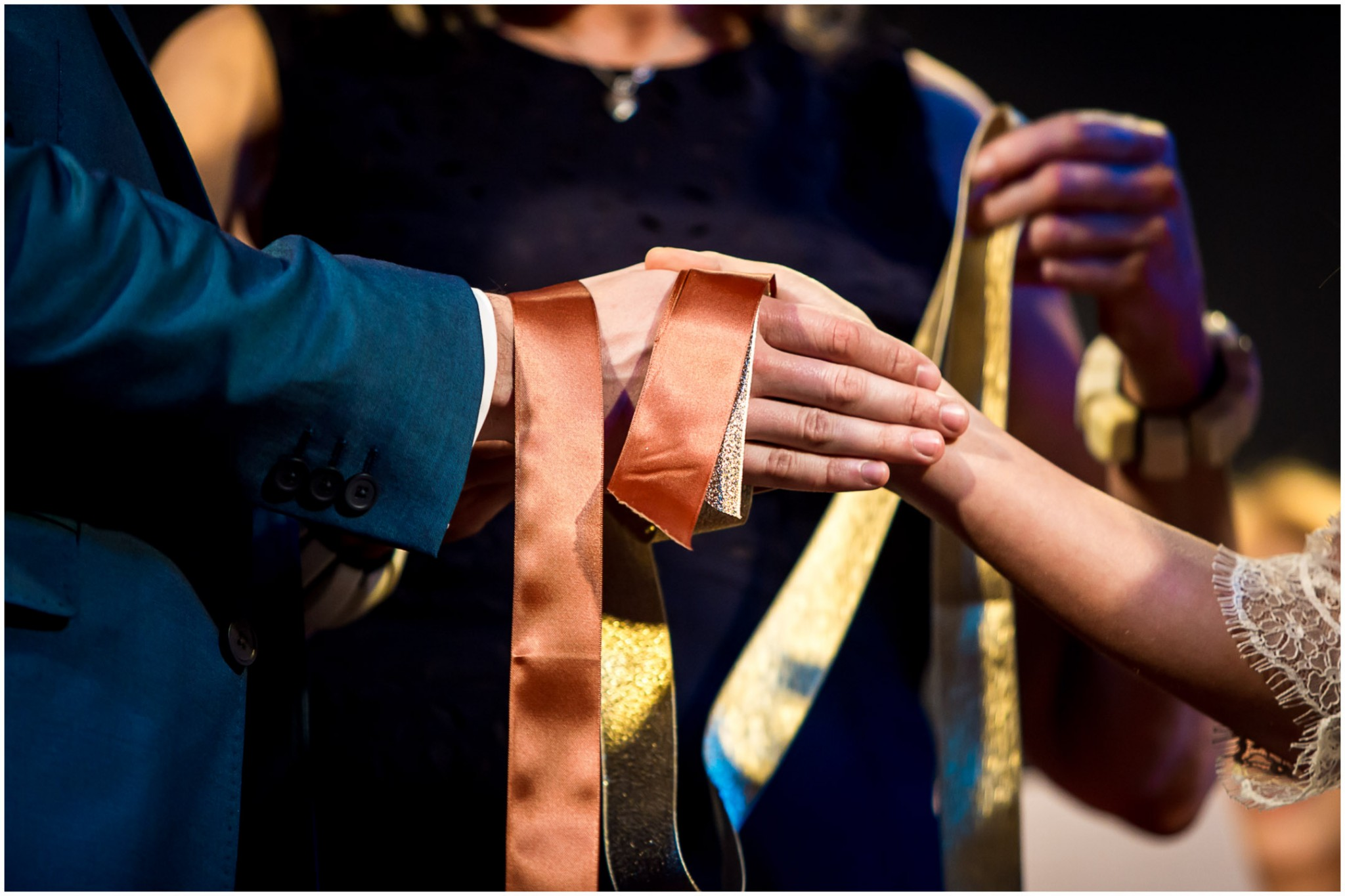 Islington Metal Works Wedding - Hand fasting