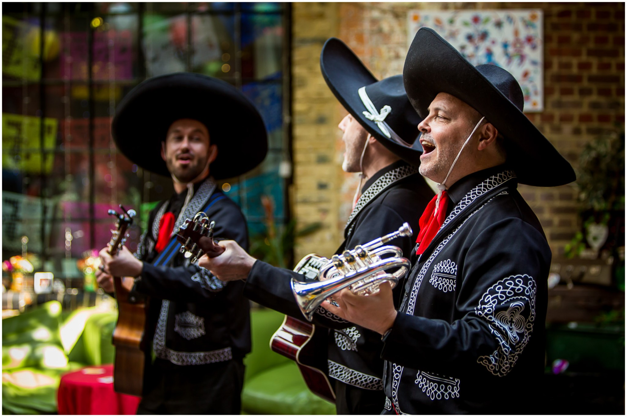 Islington Metal Works Wedding - Mariachis