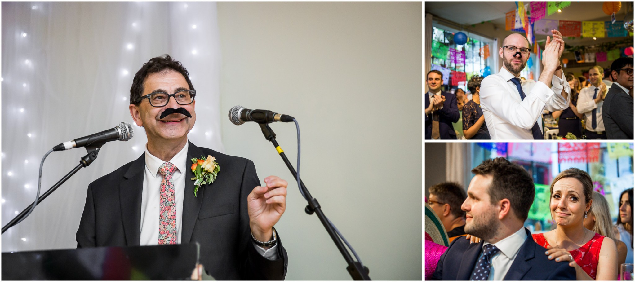 Islington Metal Works Wedding - Father of the Bride's speech