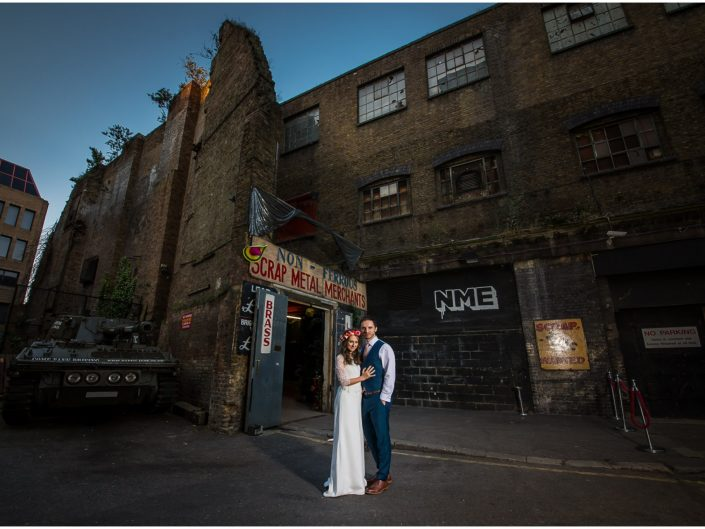 Islington Metal Works Wedding Photographer