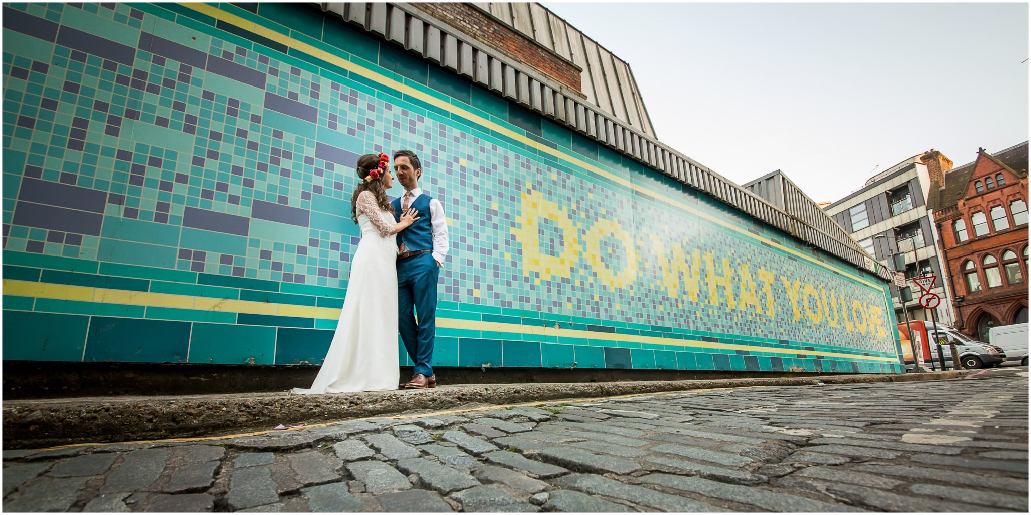Islington Metal Works Wedding -Do What You Love mural