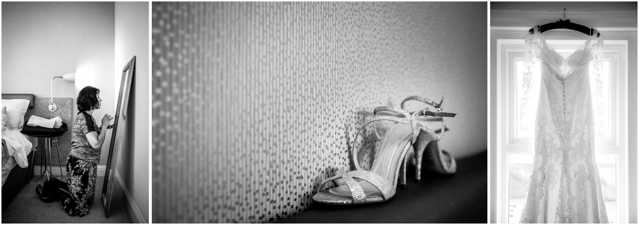 Highcliffe Castle Wedding Shoes & Wedding Dress