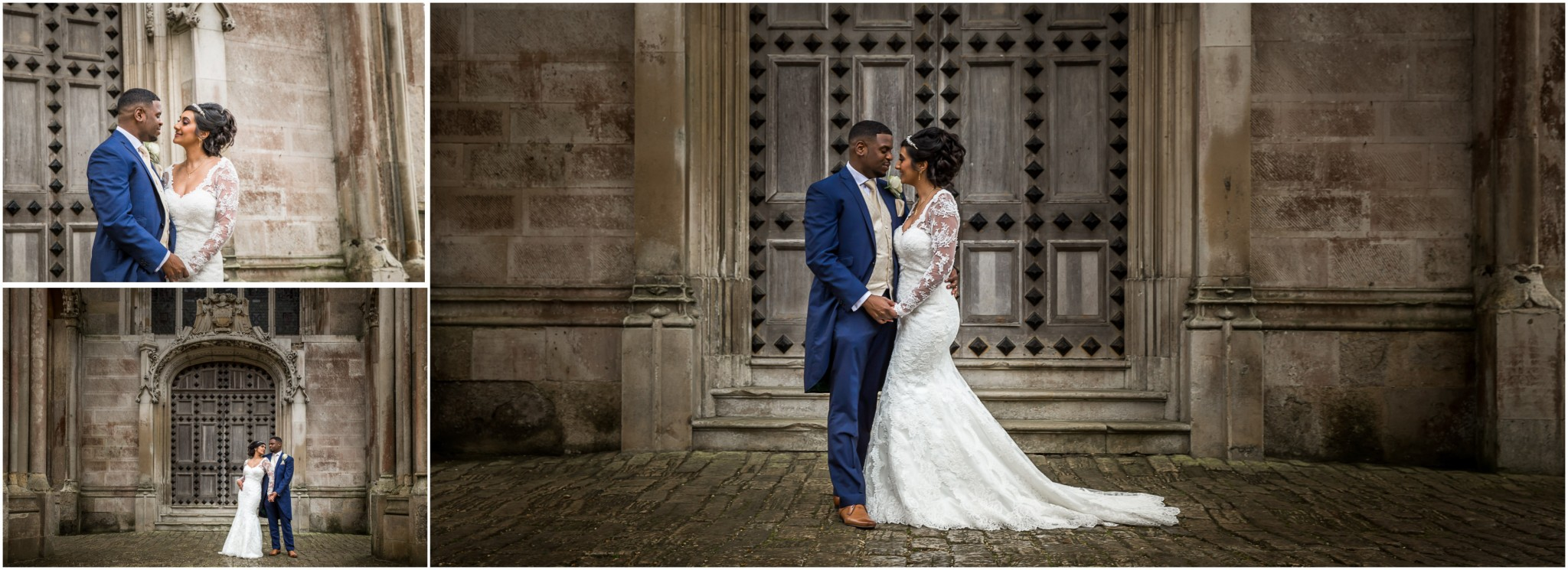 Highcliffe Castle Wedding Bride & Groom portraits