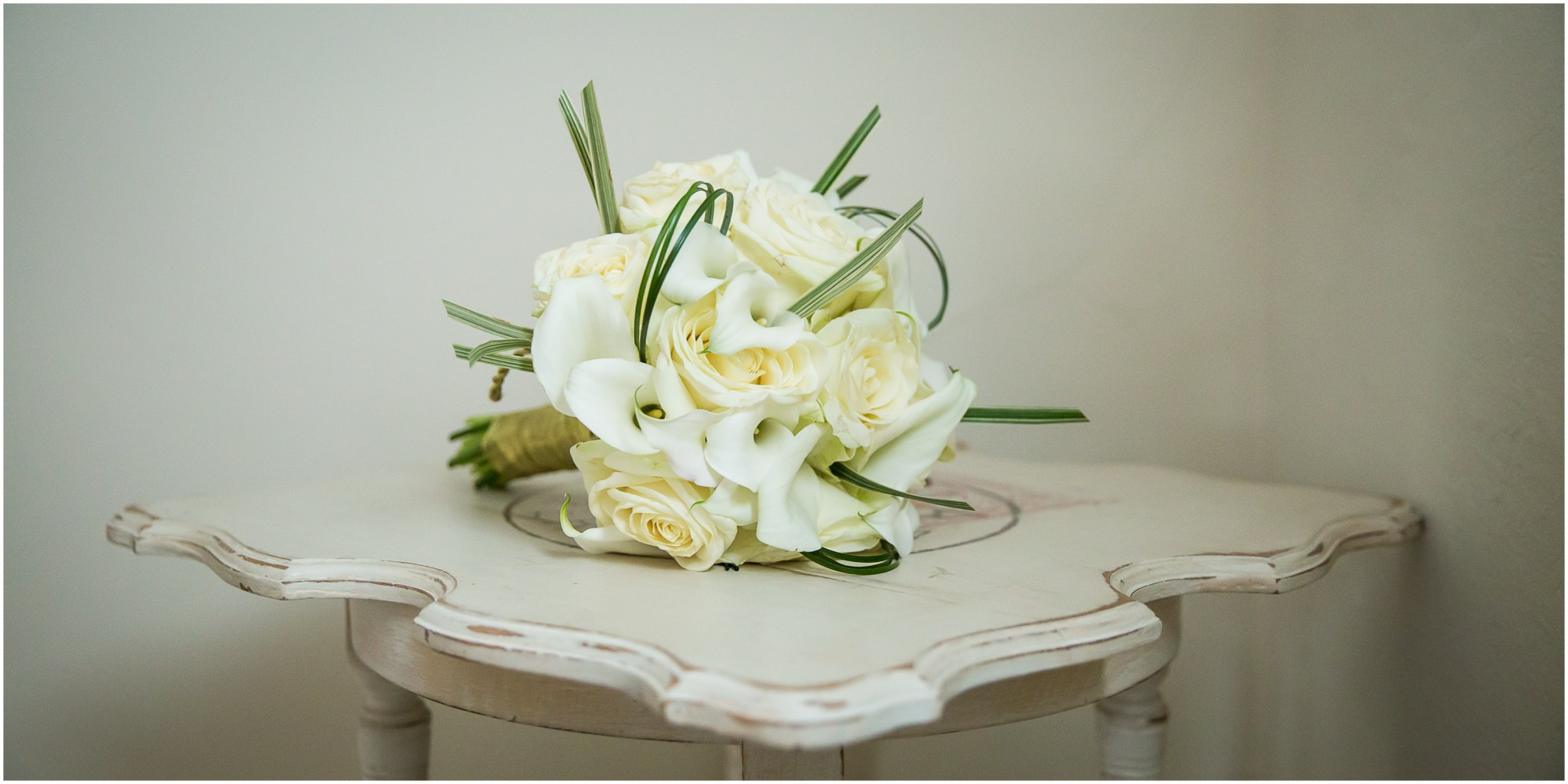 Sopley Mill Wedding Reception Brides bouquet