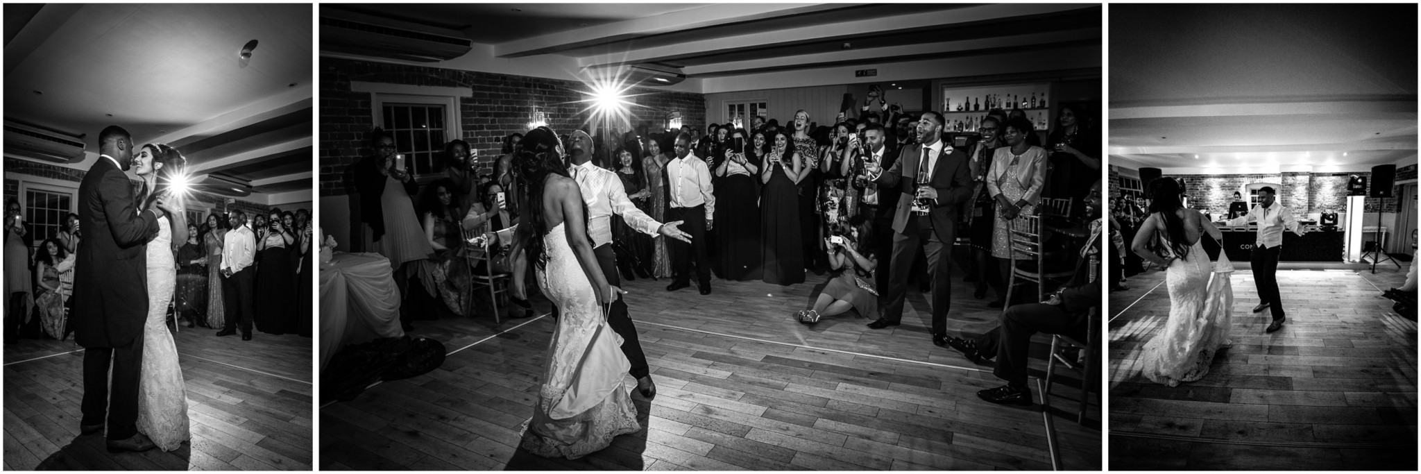 Sopley Mill Wedding Reception First Dance