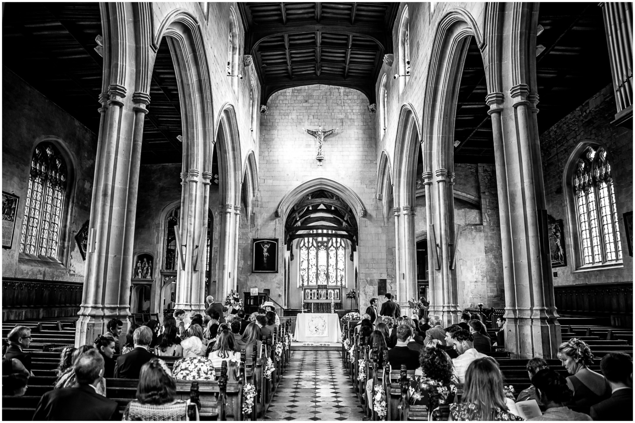 Highfield Park Wedding Photography church ceremony