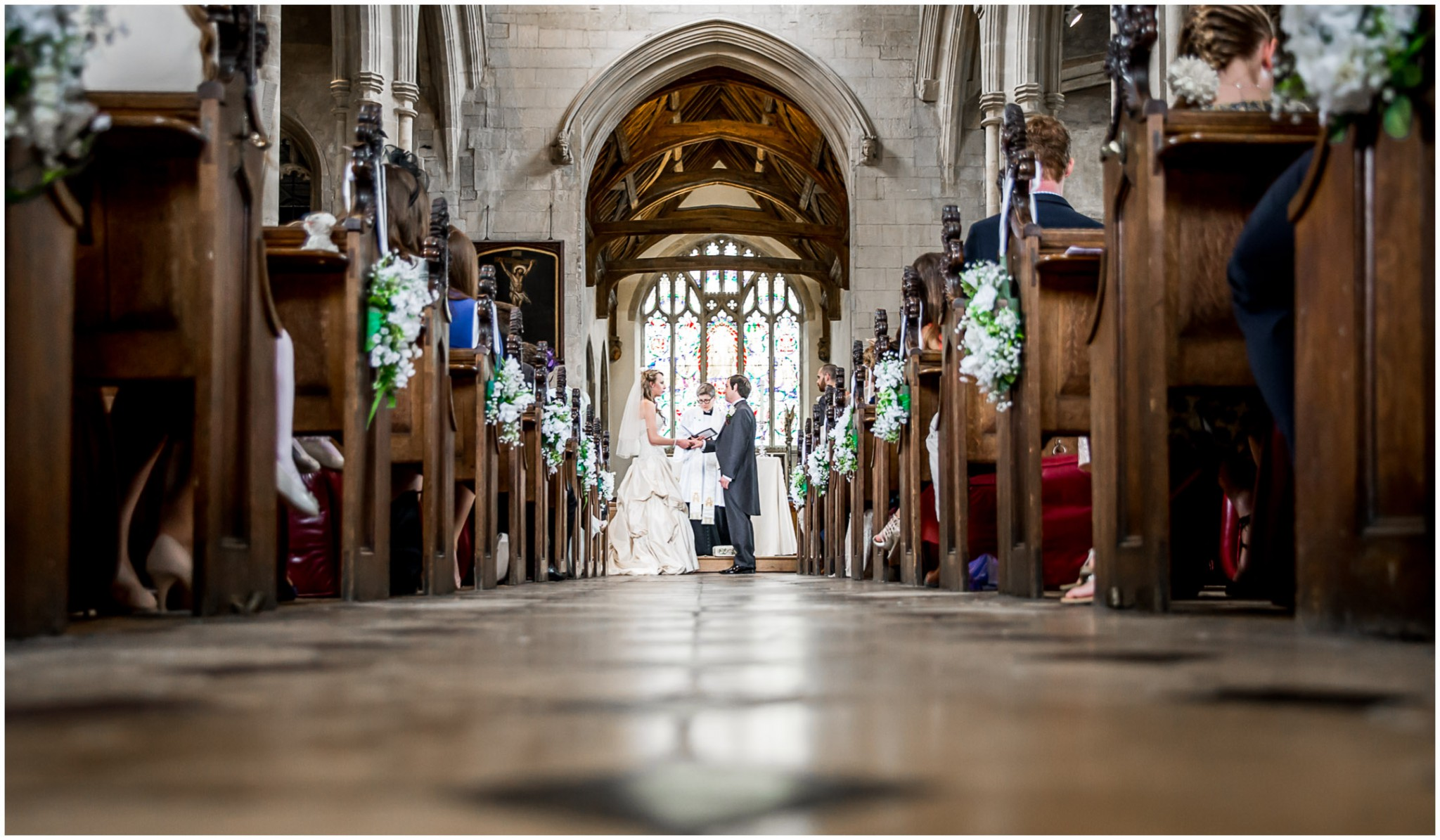 Highfield Park Wedding Photography Wedding Vows Bride & Groom