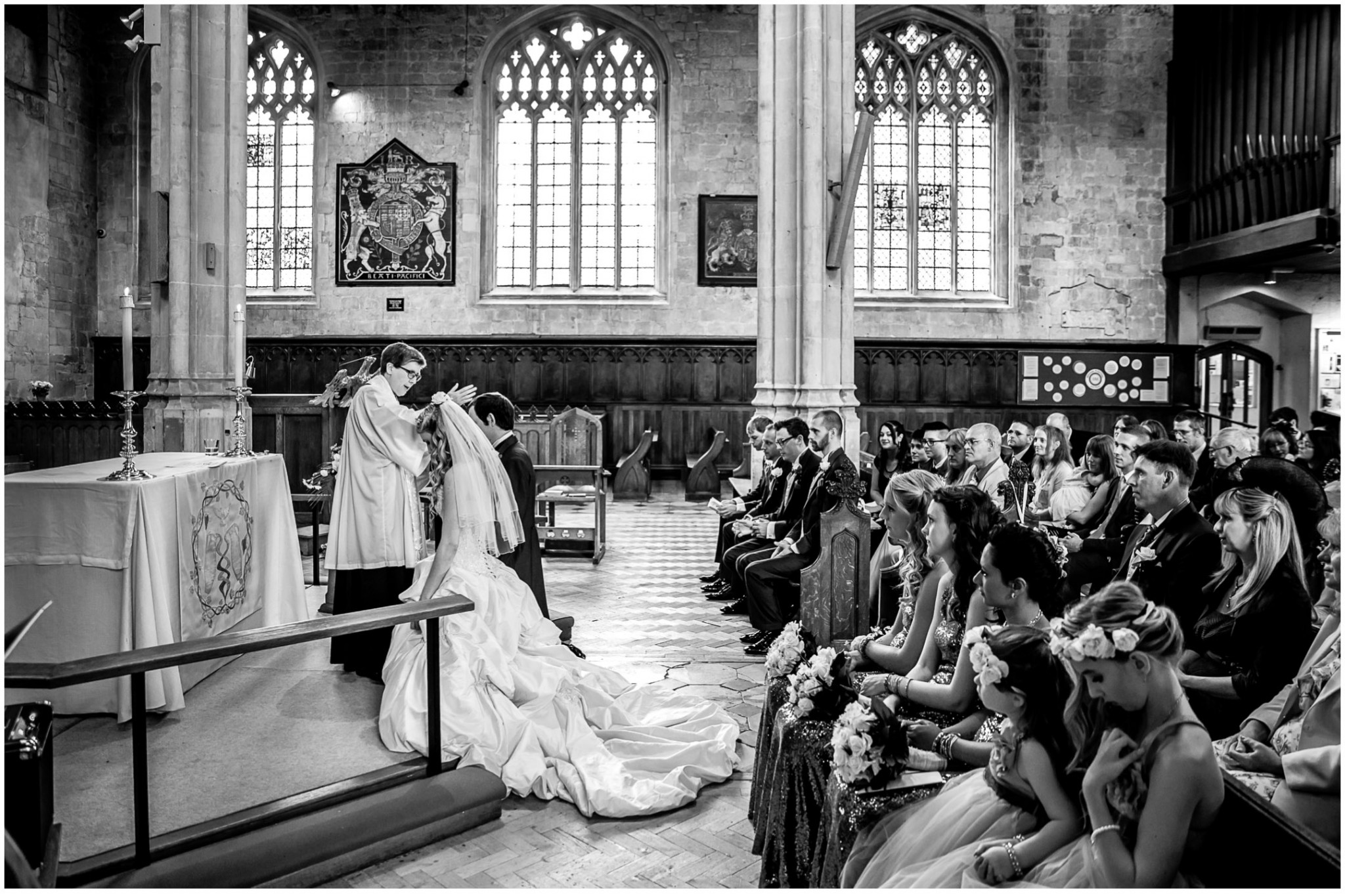 Highfield Park Wedding Photography Blessing