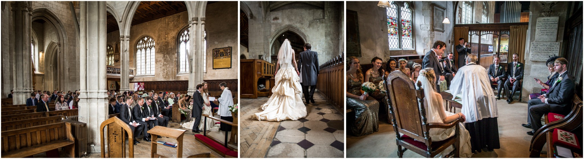 Highfield Park Wedding Photography before signing the register