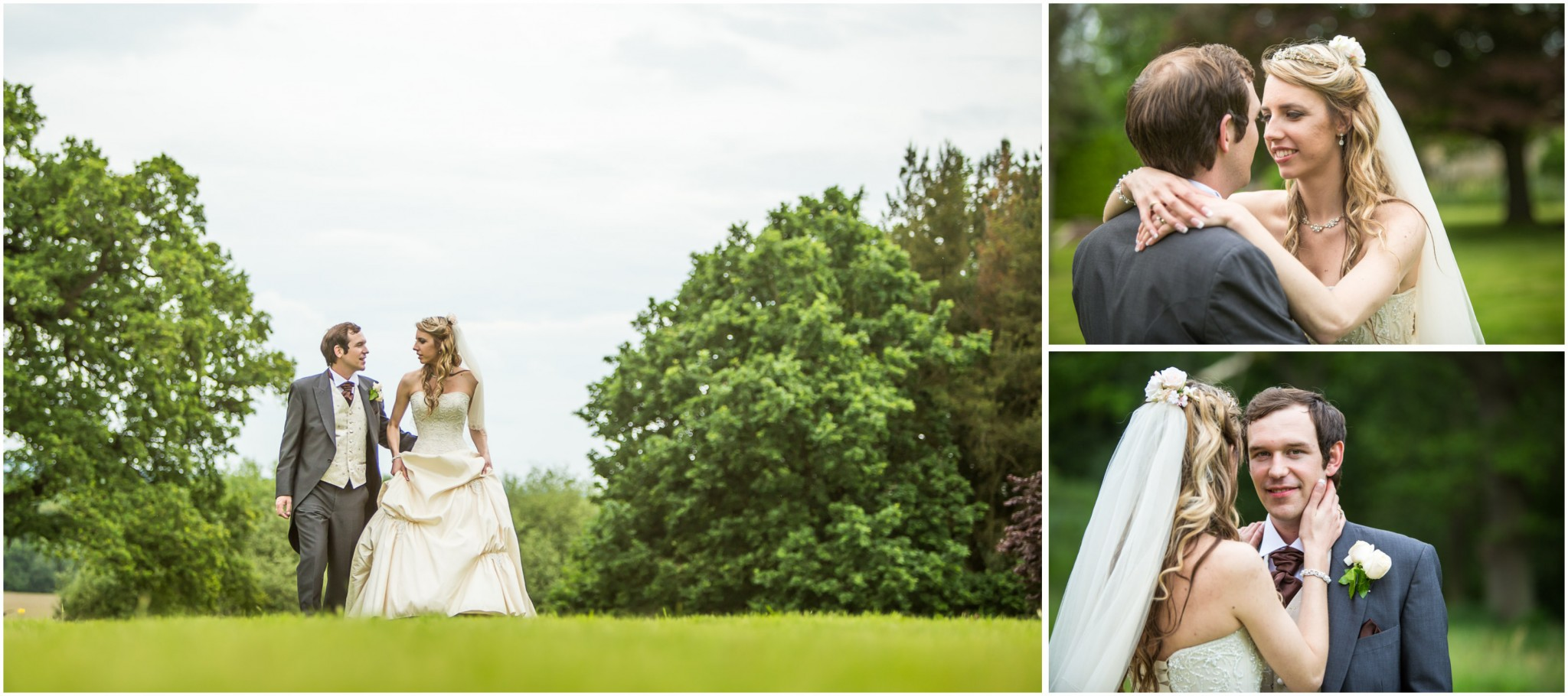 Highfield Park Wedding Photography Portraits of the Bride and Groom