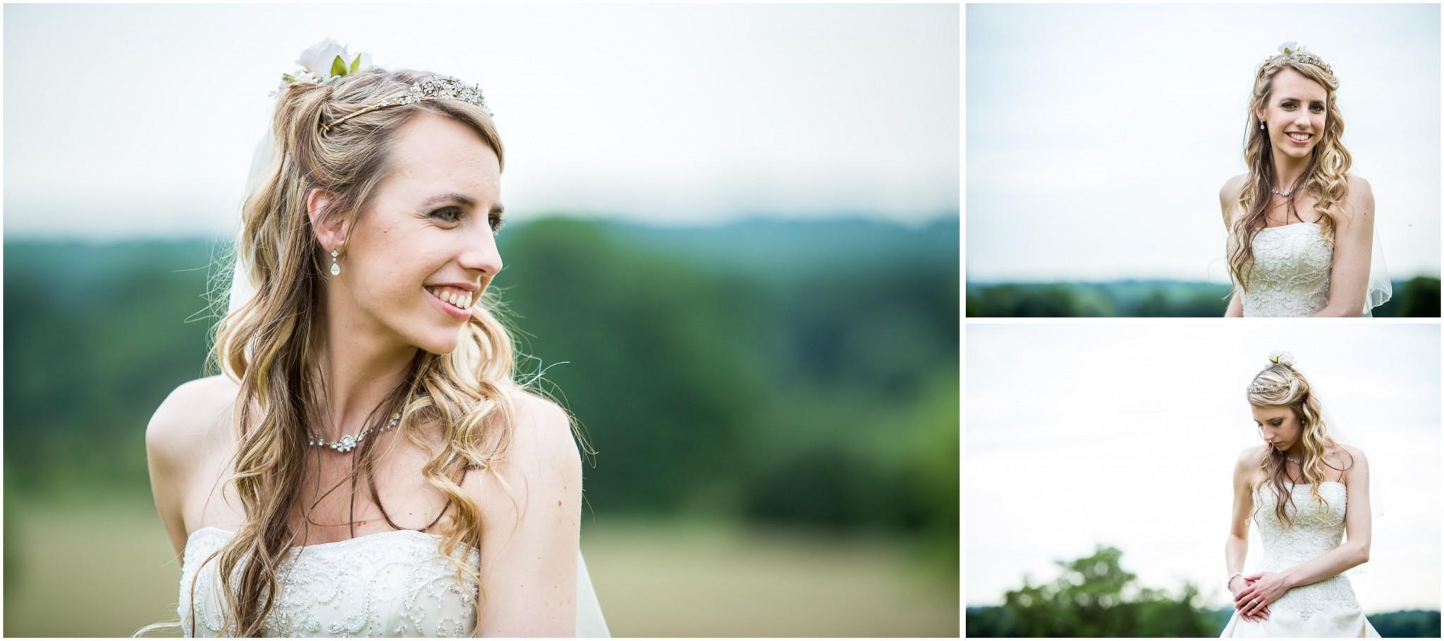 Highfield Park Wedding Photography Bridal portraits