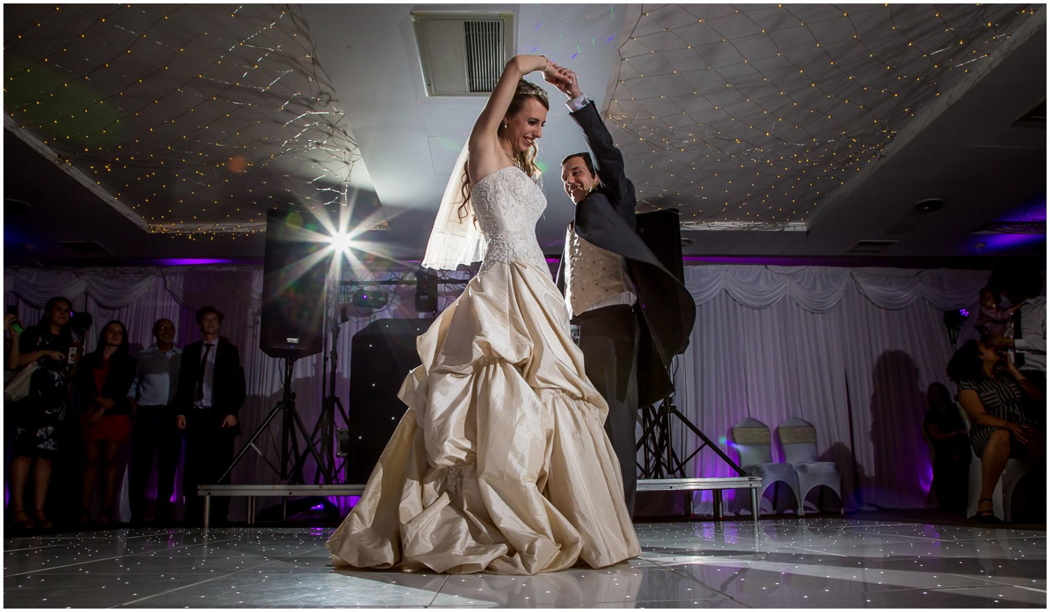 Highfield Park Wedding Photography First Dance