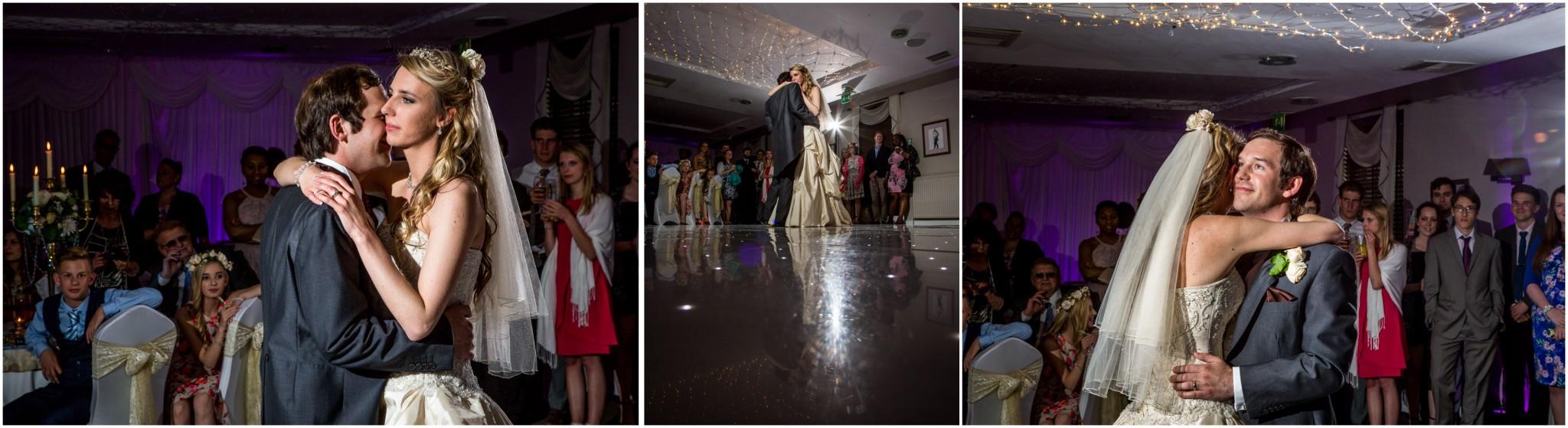 Highfield Park Wedding Photography Photos of first dance