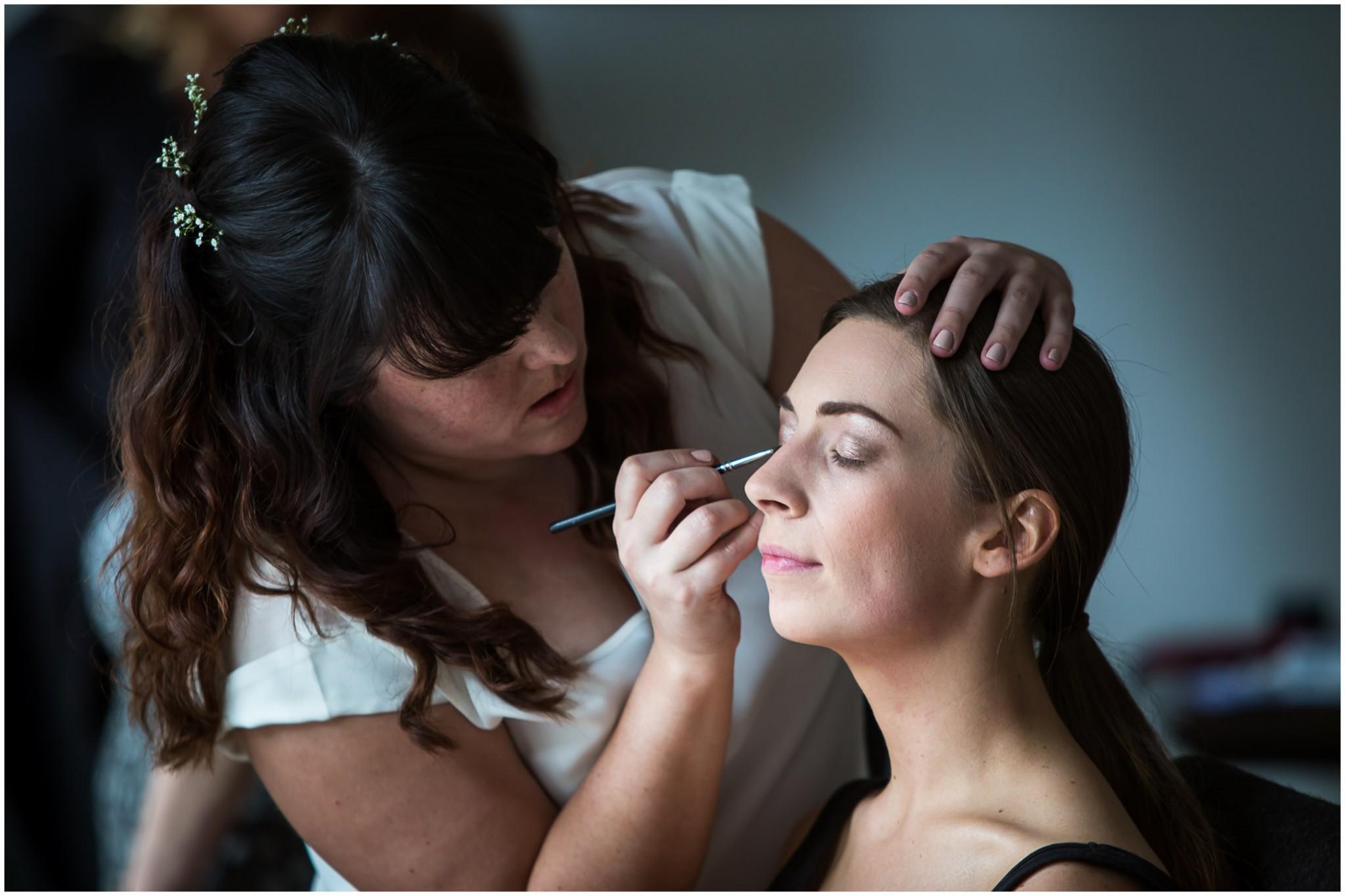Wasing Park Wedding Photography Bridal makeup