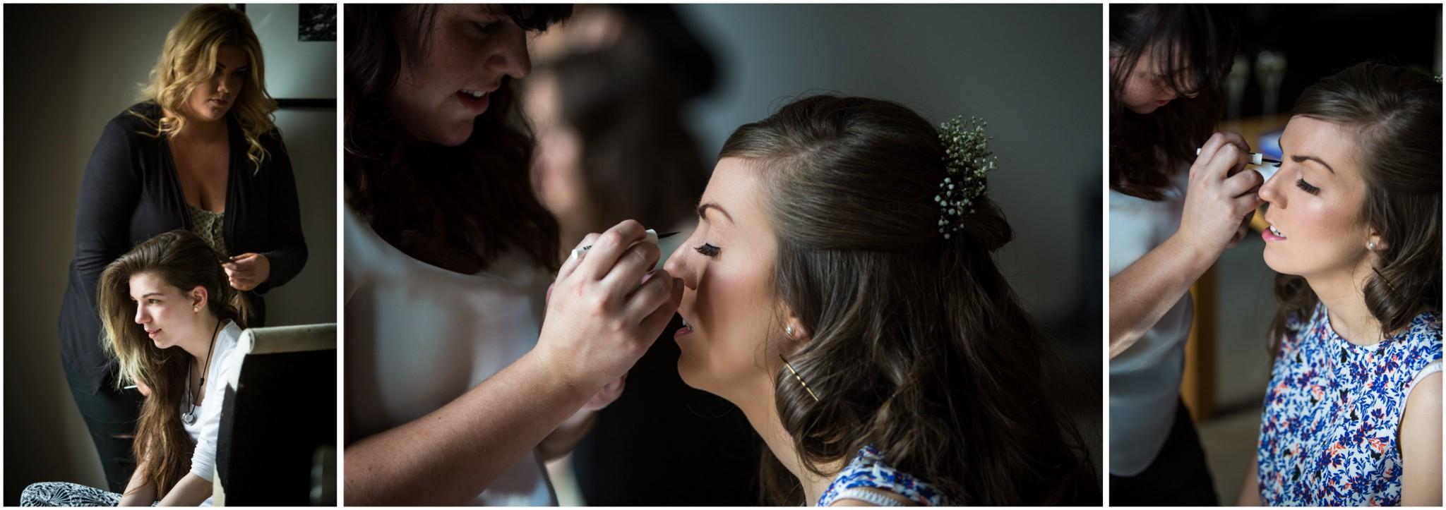 Wasing Park Wedding Photography Bridal make up
