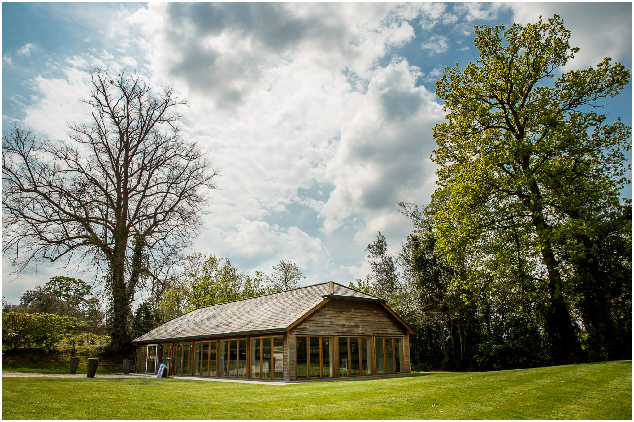 Wasing Park Wedding Photography Barn exterior
