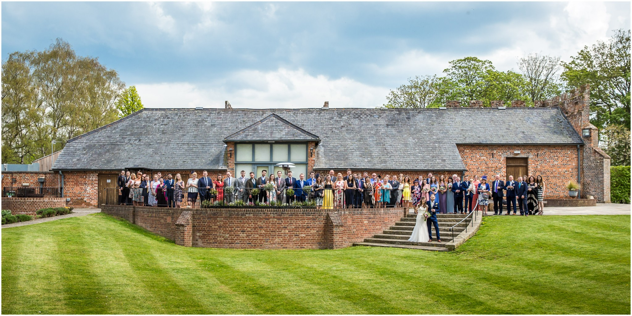 Wasing Park Wedding Photography Group shot