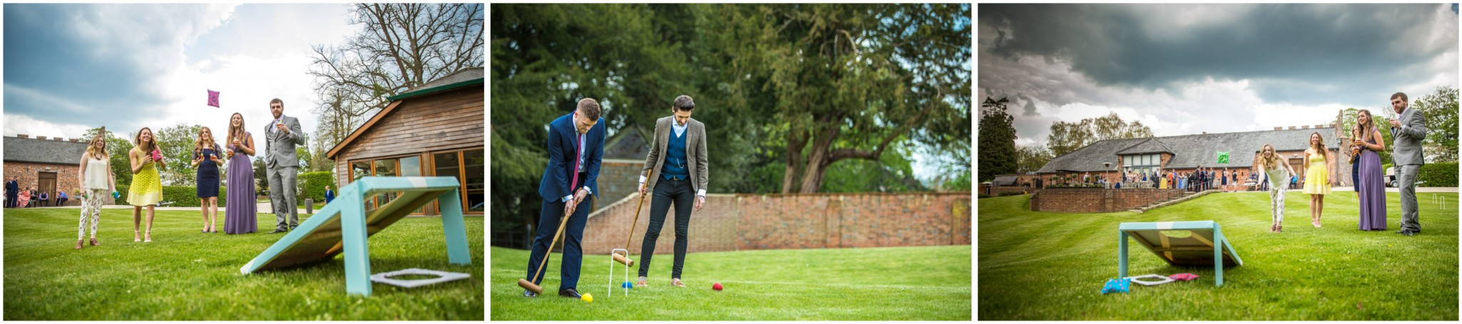 Wasing Park Wedding Photography croquet