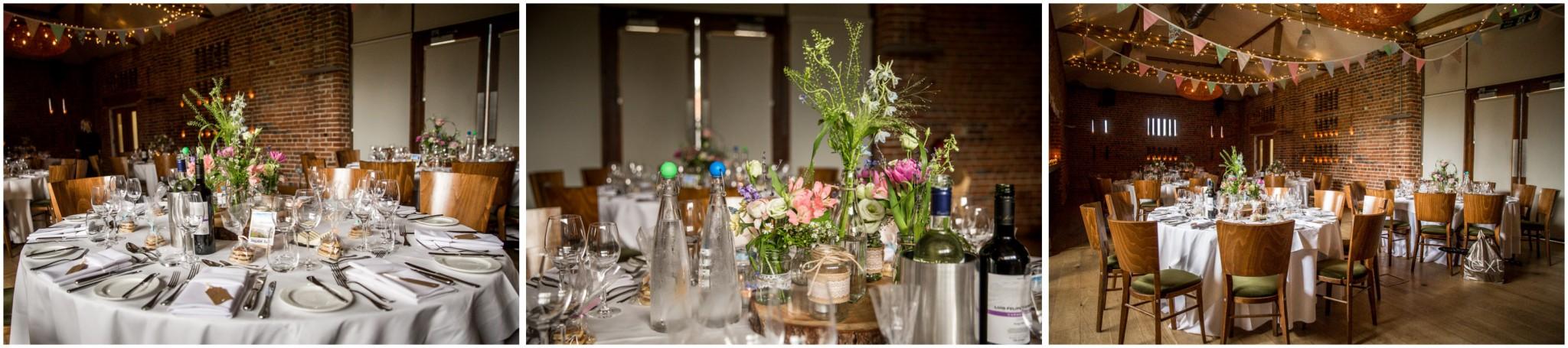 Wasing Park Wedding Photography Barn reception