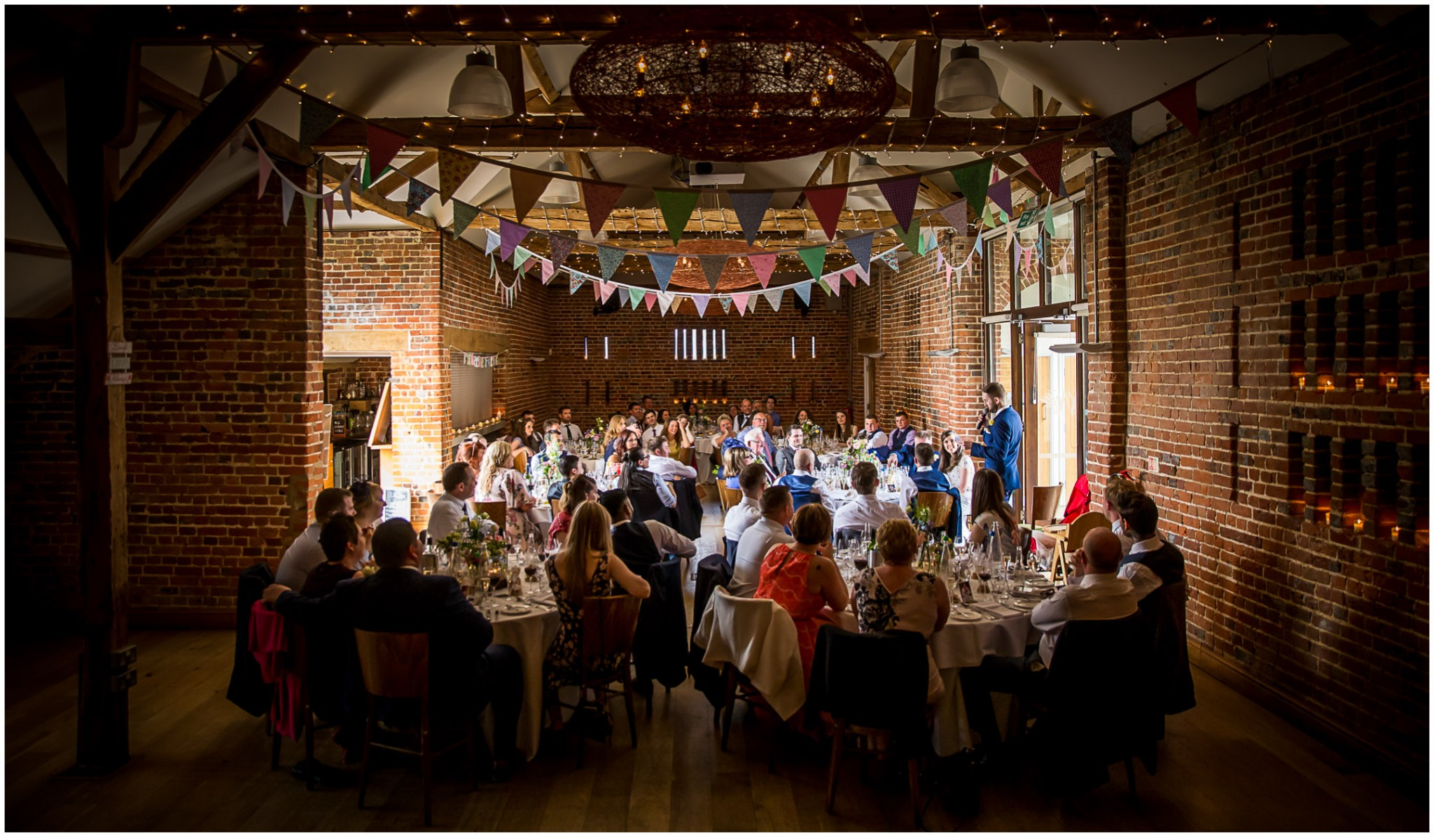Wasing Park Wedding Photography Groom's speech
