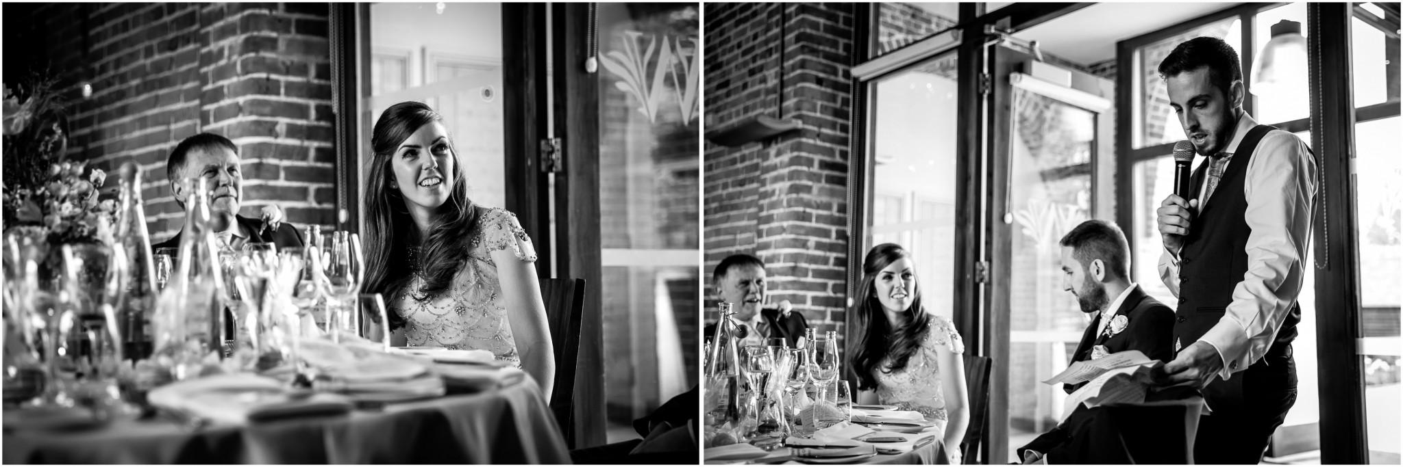 Wasing Park Wedding Photography Best Man's speech