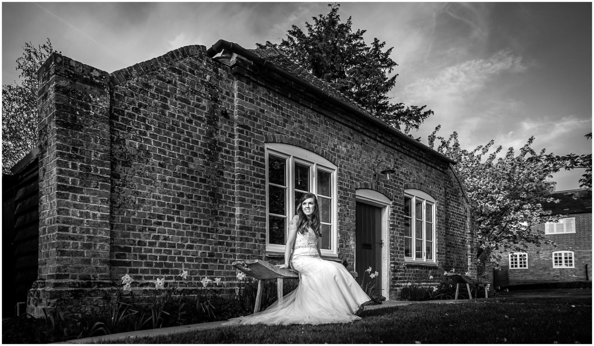 Wasing Park Wedding Photography Bride portrait