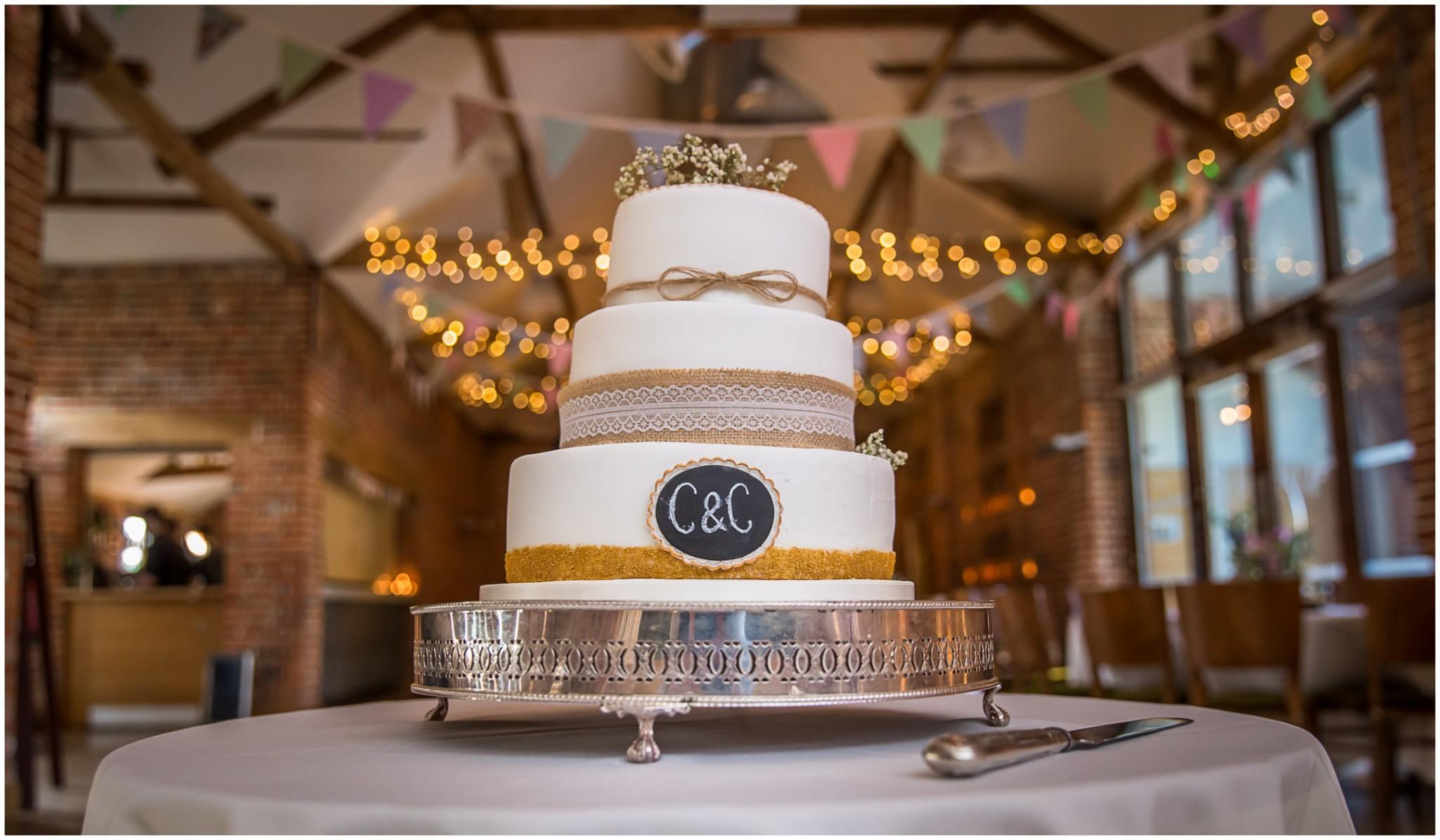 Wasing Park Wedding Photography wedding cake