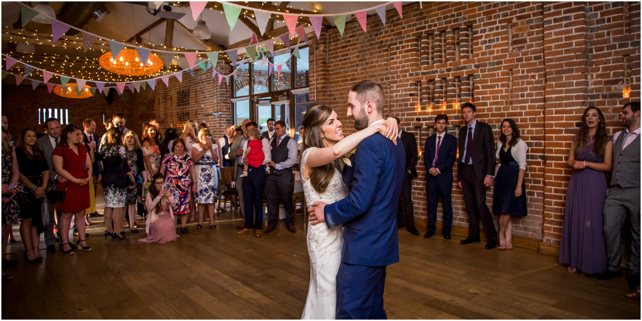 Wasing Park Wedding Photography Bride & Groom's first dance