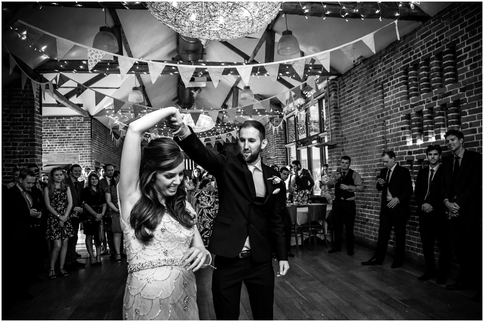 Wasing Park Wedding Photography Bride & Groom dancing