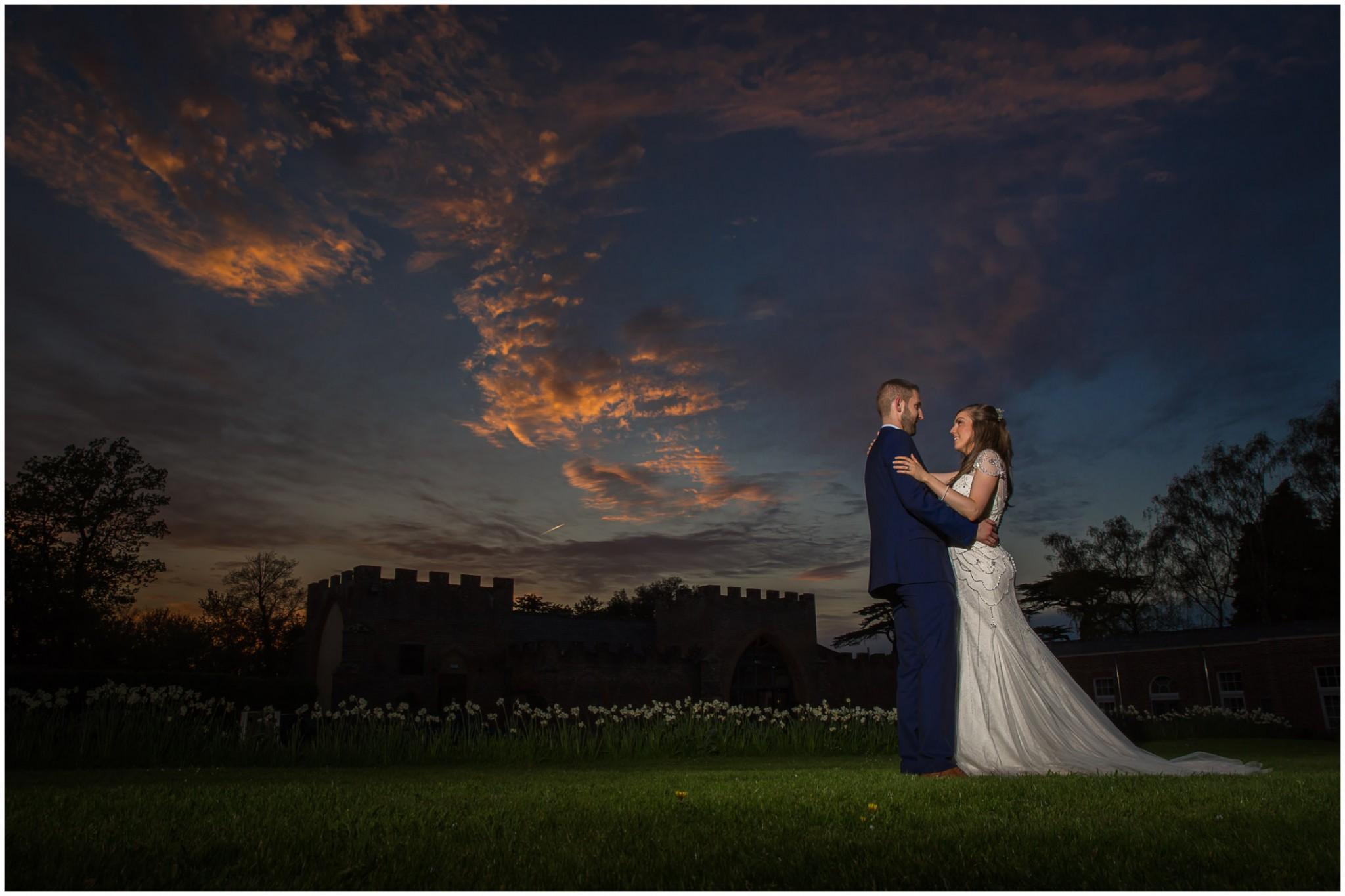 Wasing Park Wedding Photography sunset