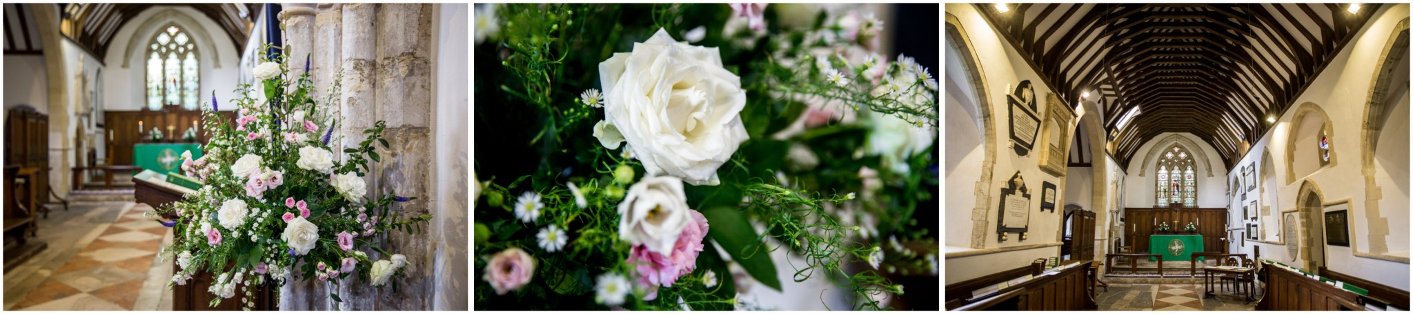 St Thomas a Becket Church Wedding Flowers
