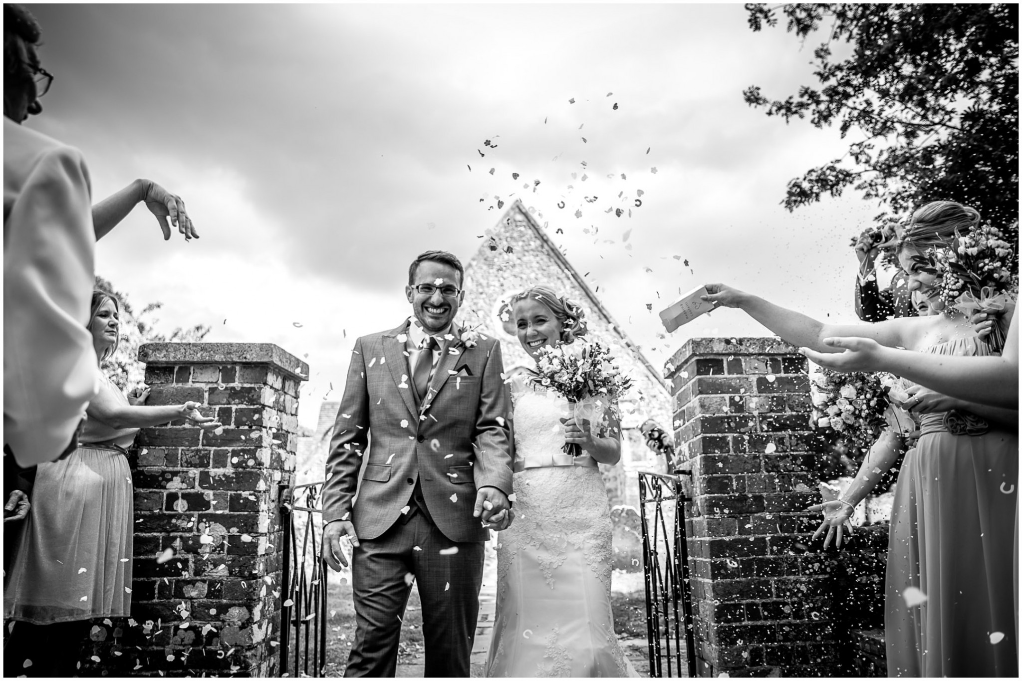 St Thomas a Becket Church Wedding Confetti