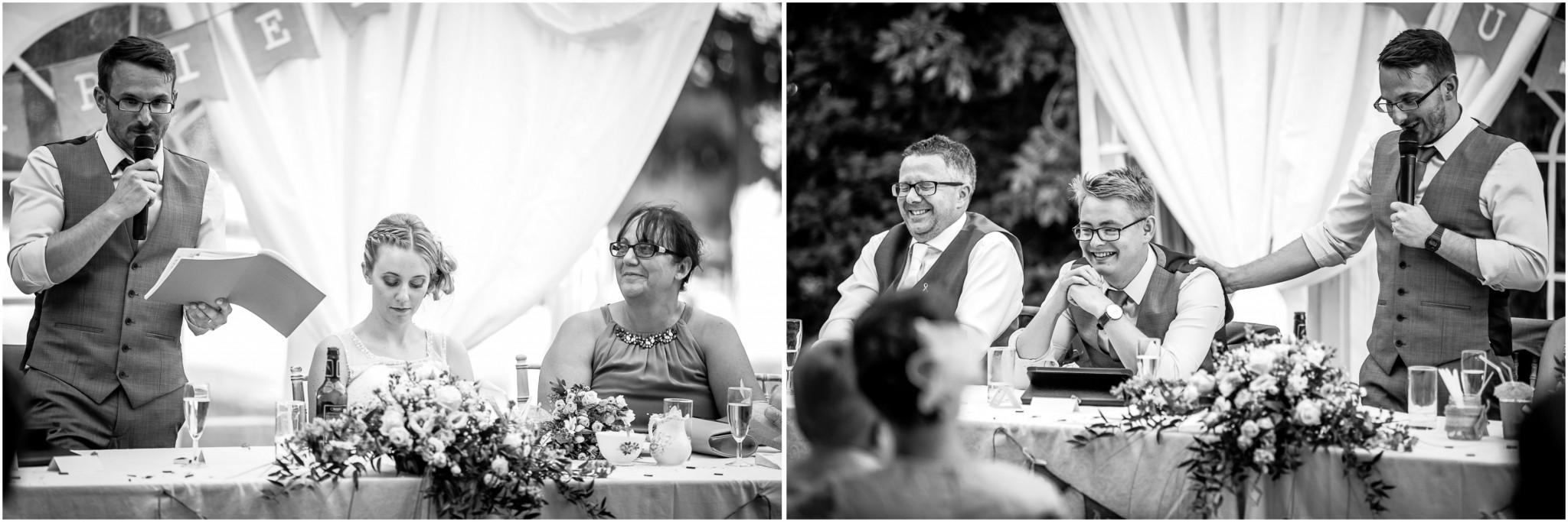 Tournerbury Woods Estate Wedding Groom's speech