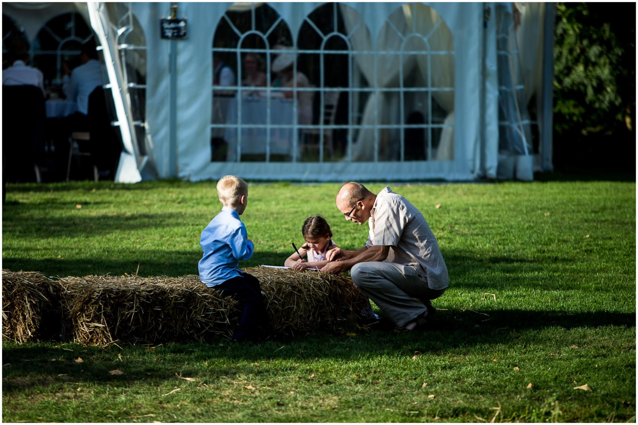 Tournerbury Woods Estate Wedding Children playing