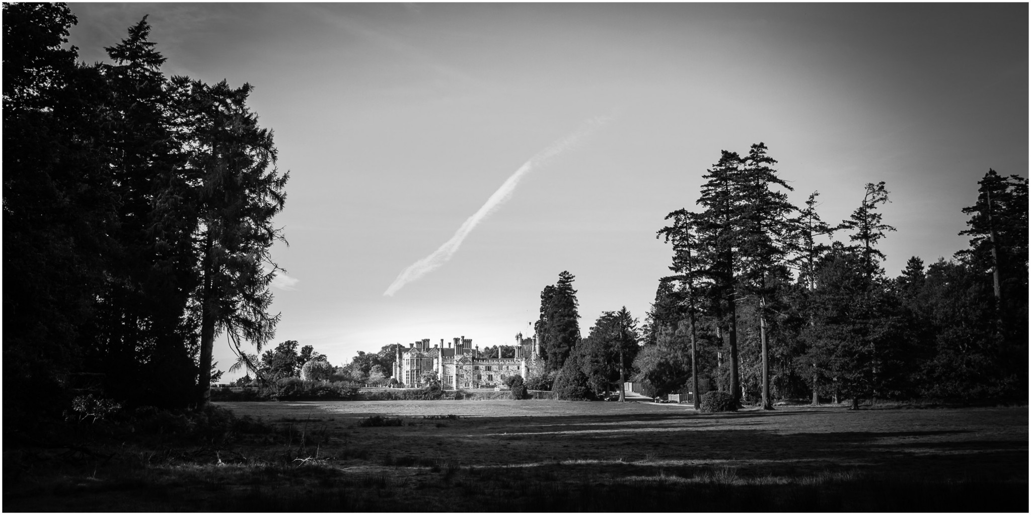 Rhinefield House Wedding Photographer Exterior Shot