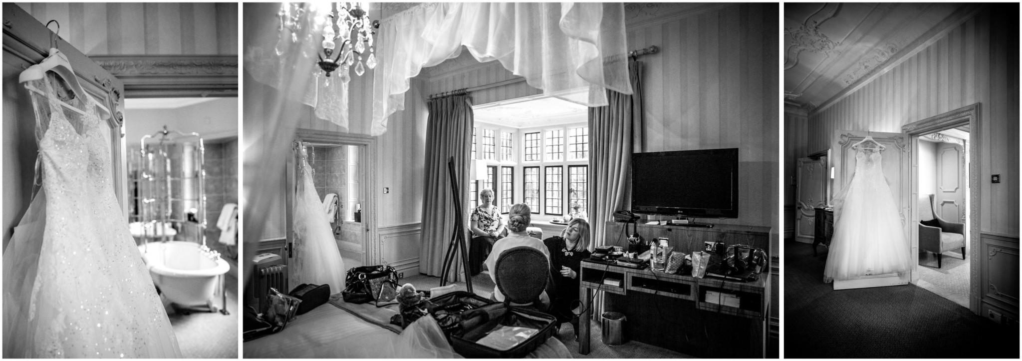 Rhinefield House Wedding Photographer Bridal prep