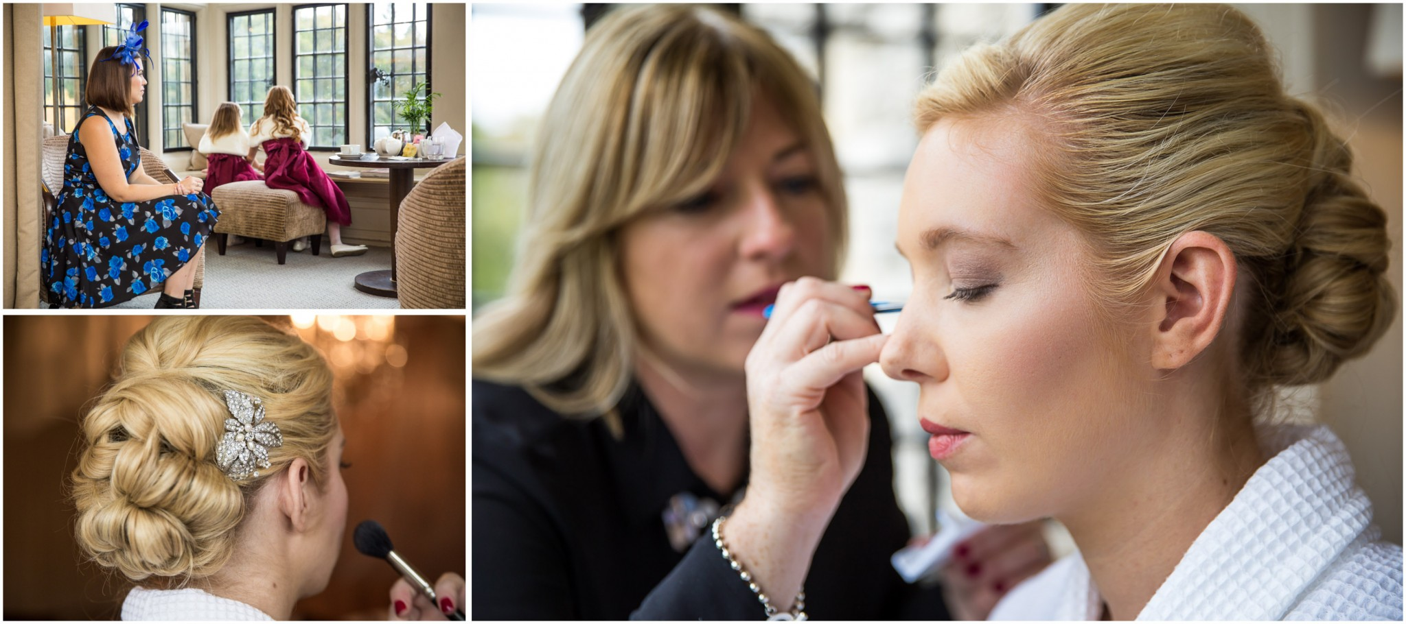 Rhinefield House Wedding Photographer Bridal Makeup