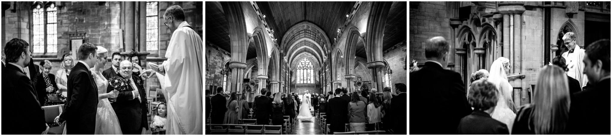St Saviours Church Brockenhurst Wedding Ceremony