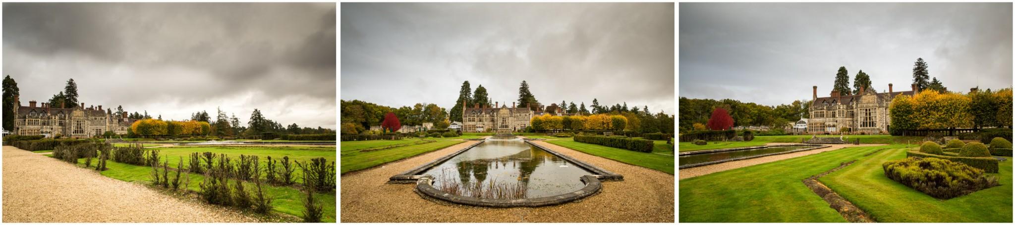 Rhinefield House Wedding Gardens