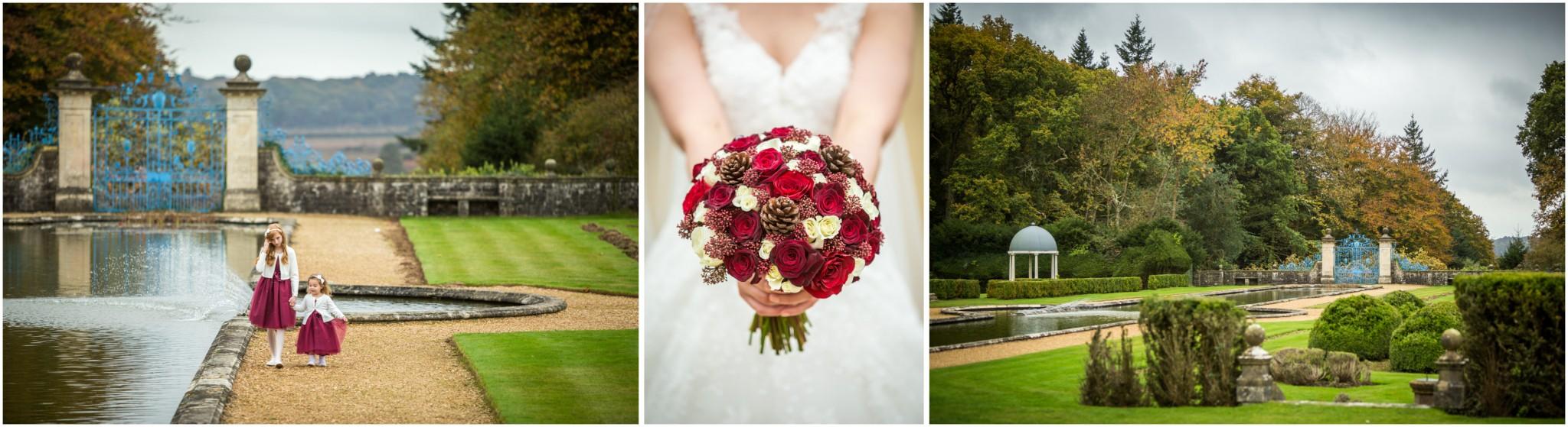Rhinefield House Wedding Bridal bouquet