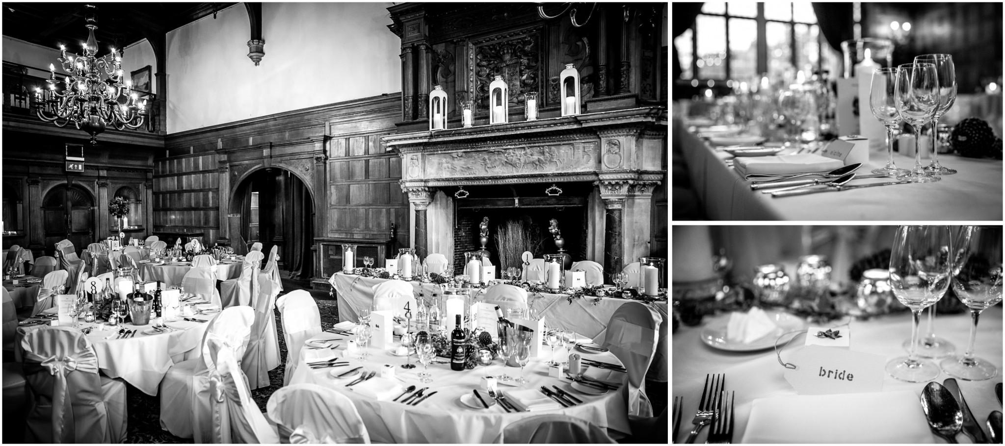 Rhinefield House Wedding Breakfast Banqueting Hall
