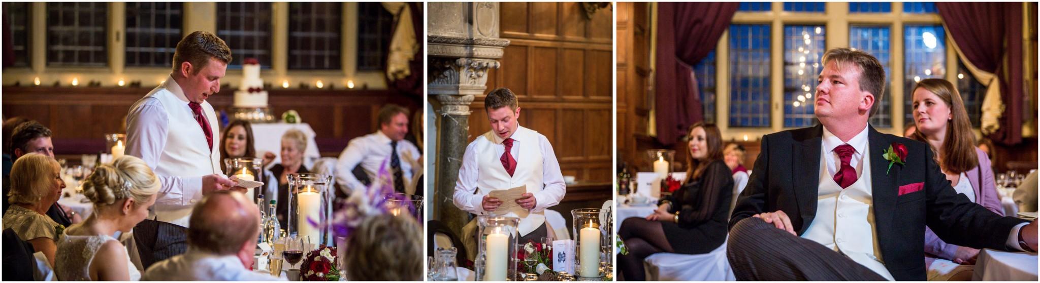 Rhinefield House Wedding Groom's speech