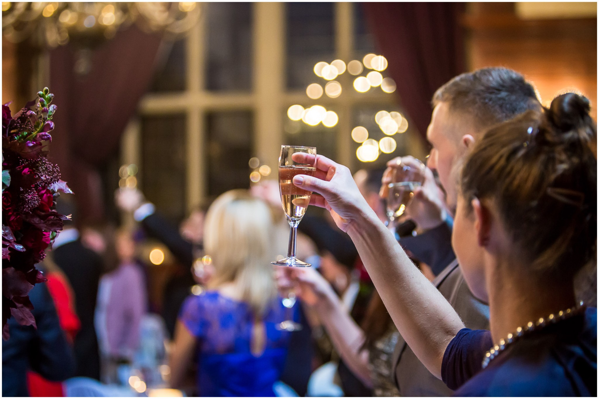 Rhinefield House Wedding Toast