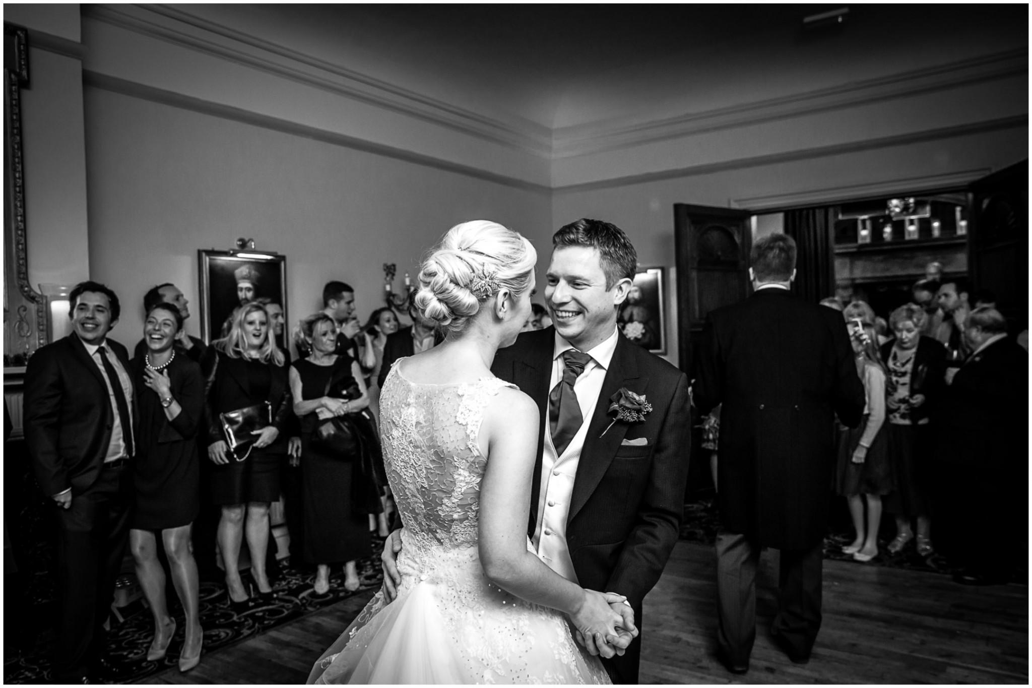 Rhinefield House Wedding Bride & Groom's first dance