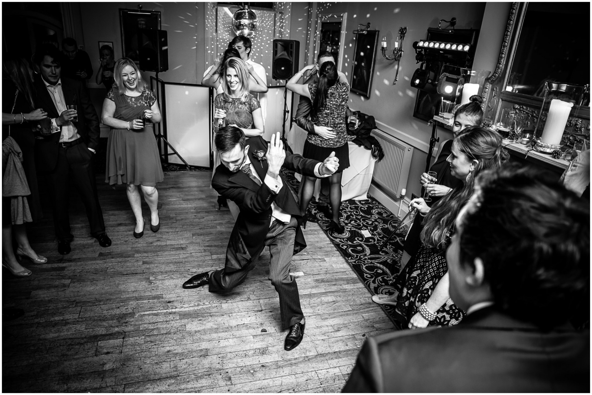Rhinefield House Wedding Moves on the dancefloor