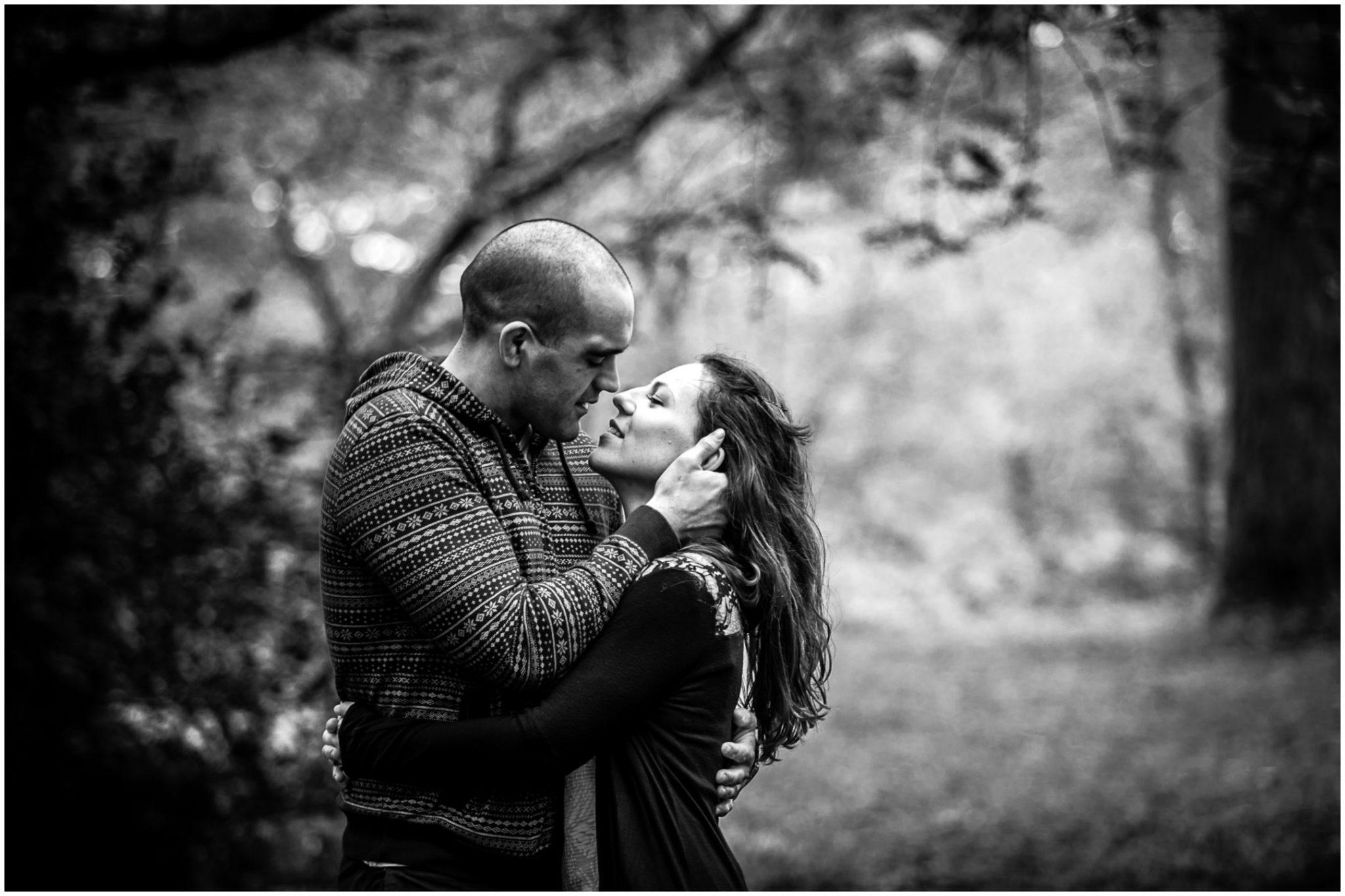 Devils Punchbowl engagement photography