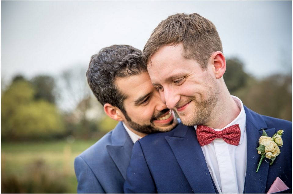 Hampshire Same-Sex Wedding in Beautiful Spring Sunshine
