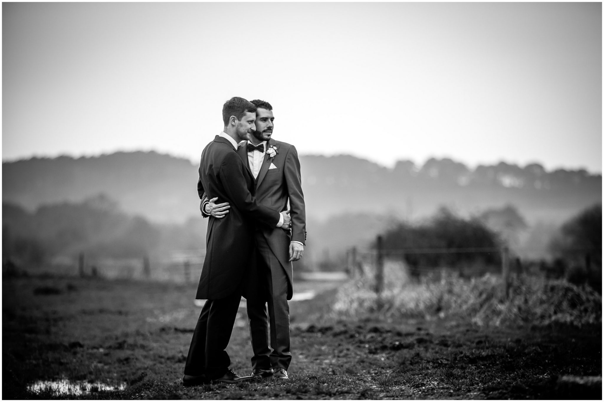 Same sex marriage in Hampshire couple photo