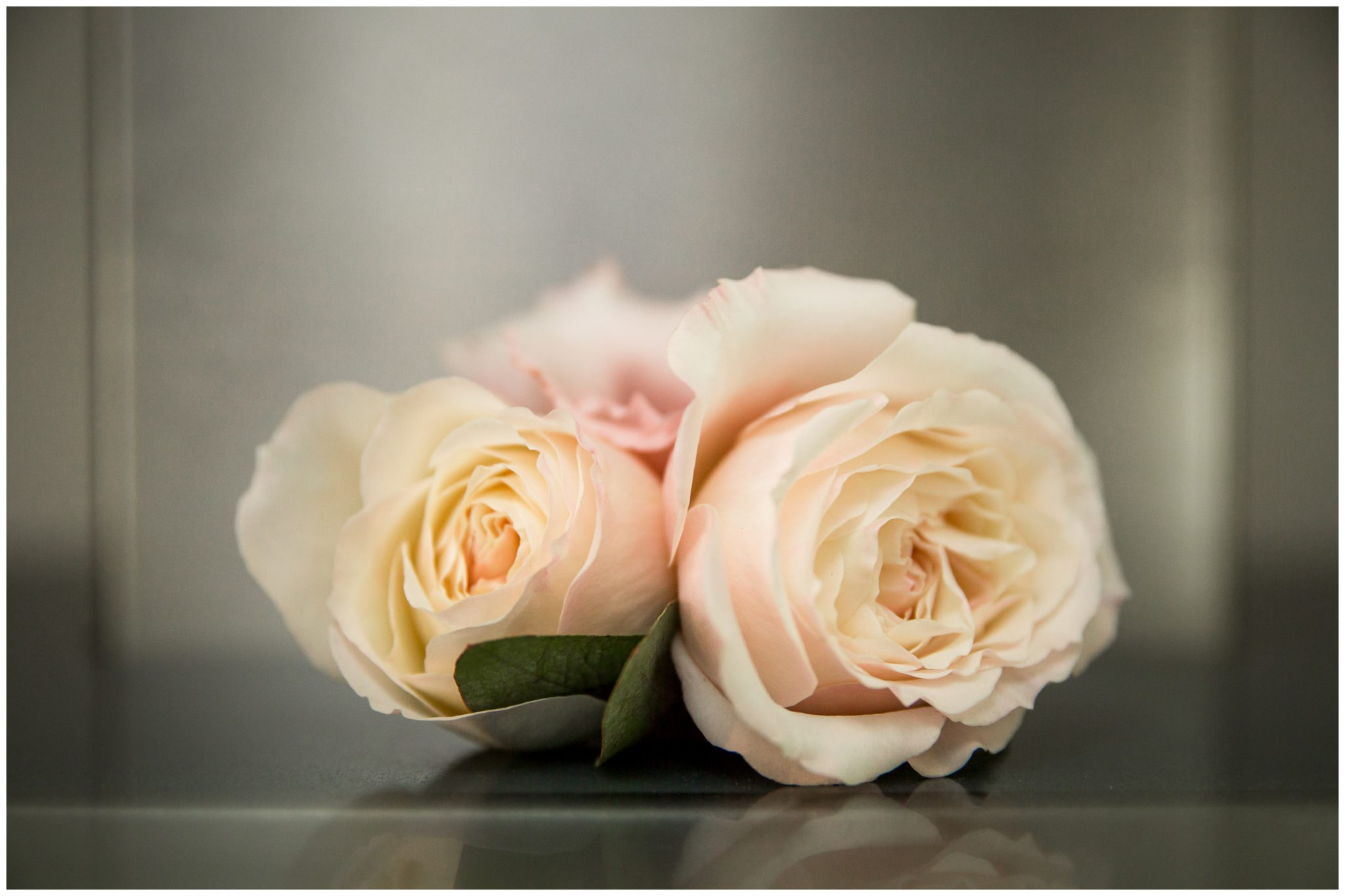 Floral details wedding buttonhole